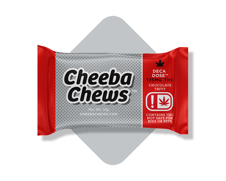 Chocolate Taffy Deca Dose Cheeba Chew