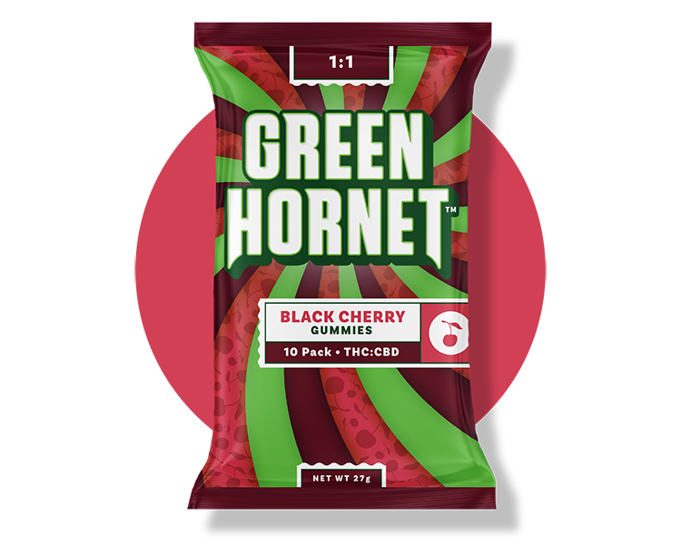 Black Cherry Edible Green Hornet
