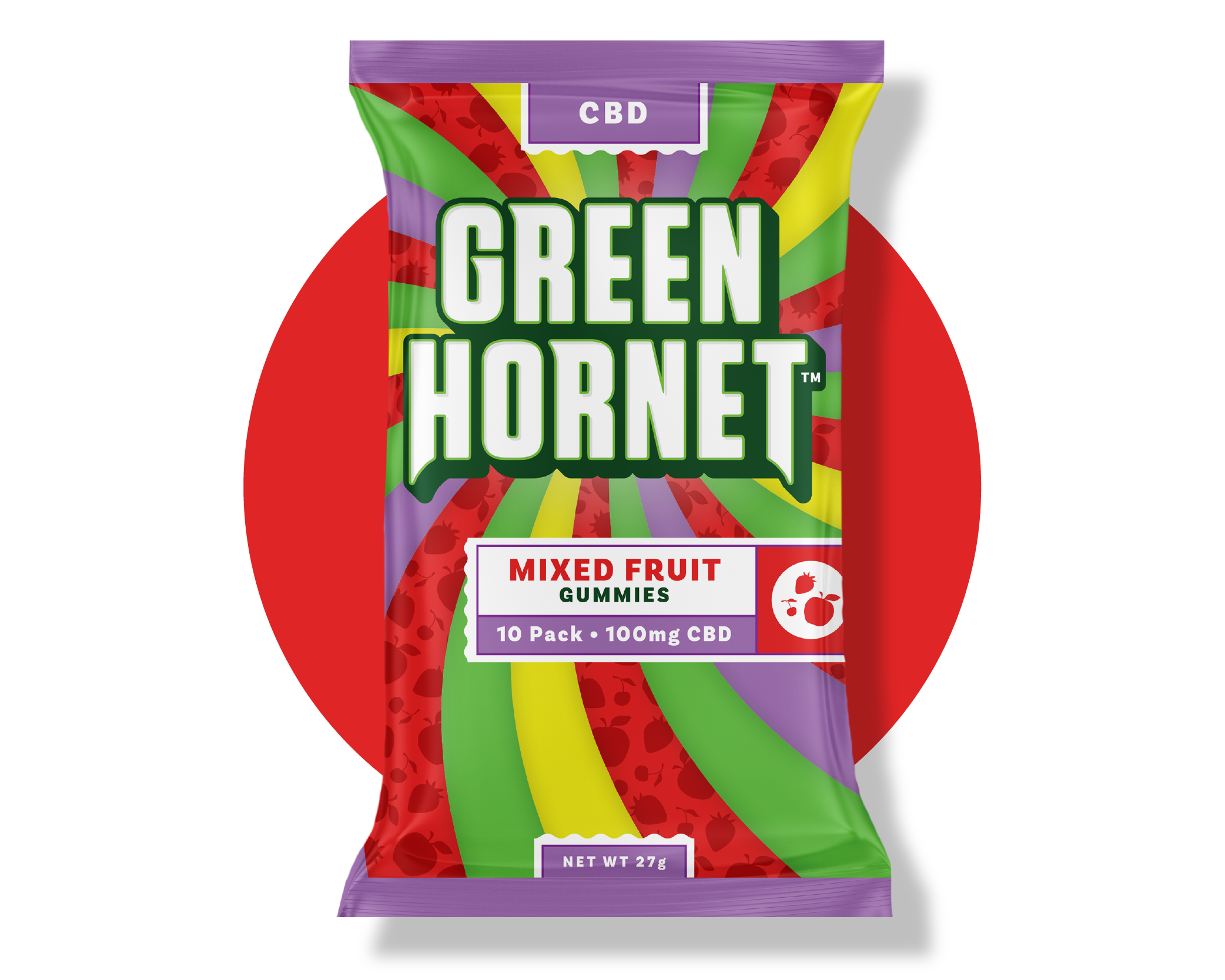 CBD Gummy Green Hornet