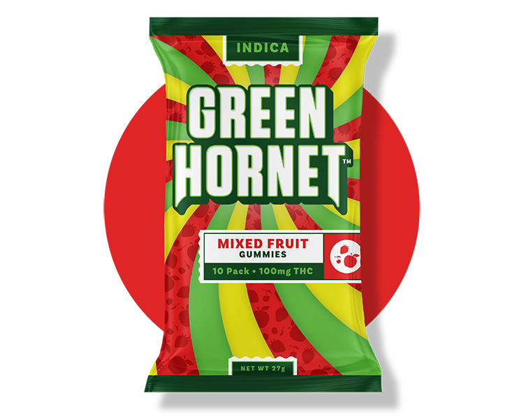 Mixed Fruit Indica Gummy Grn Hornet