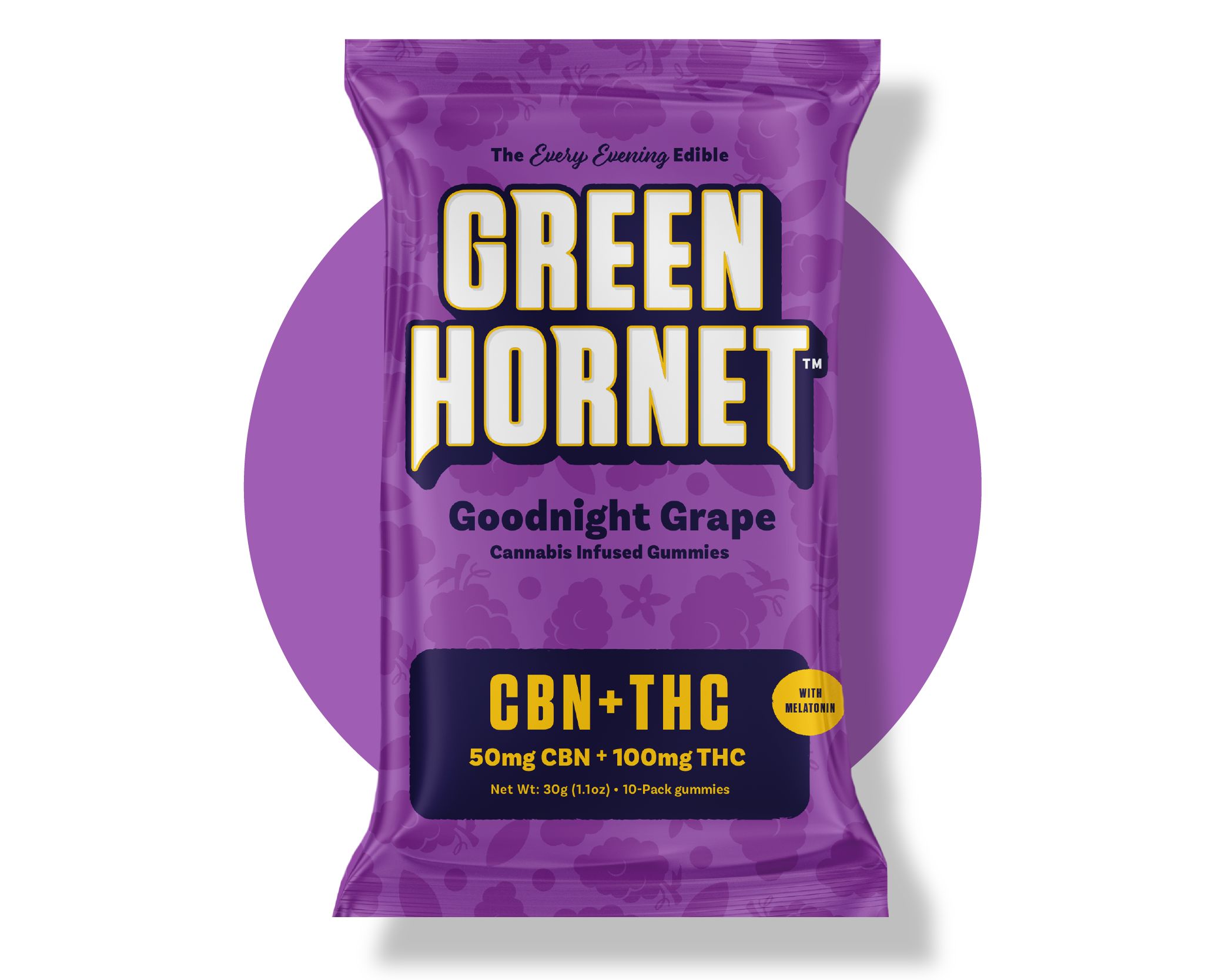 CBN Infused Grape Gummy Sleep Aid